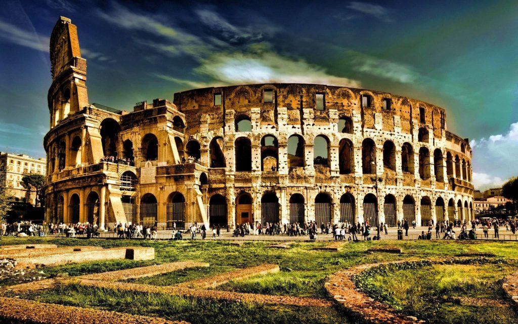 Colosseum - The Flavian  Amphitheatre