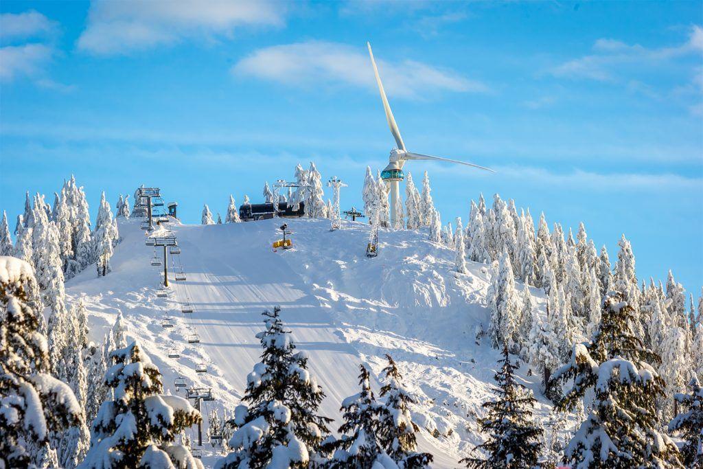 Grouse Mountain a Top Tourist Destination in Vancouver, Canada