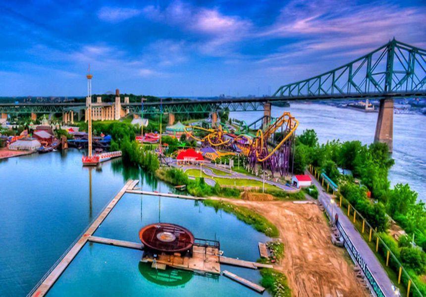 La Ronde Amusement Park Montreal
