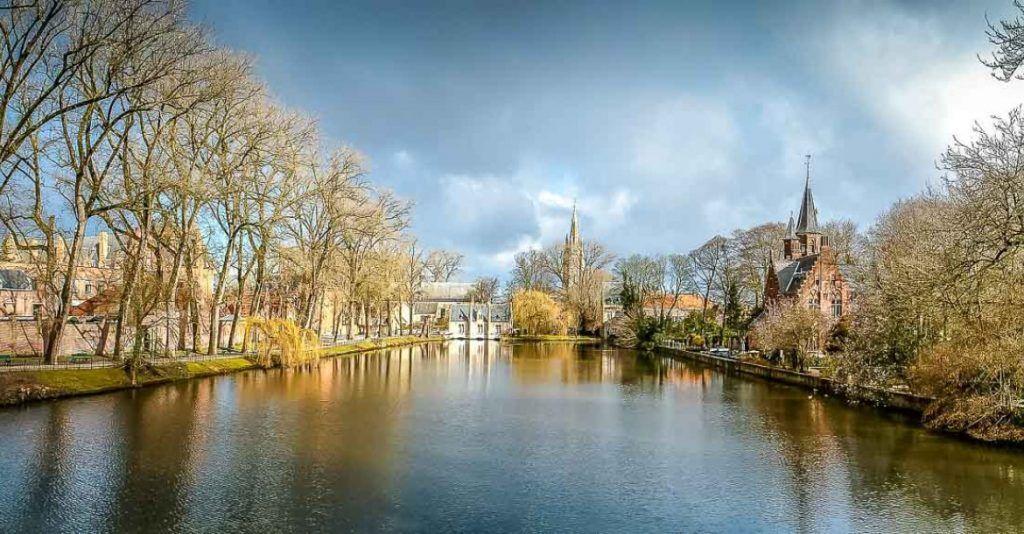 Minnewater Park, Bruges