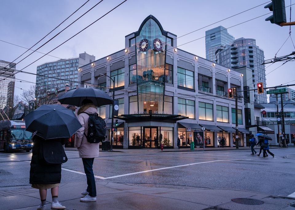 Robson Street, Vancouver