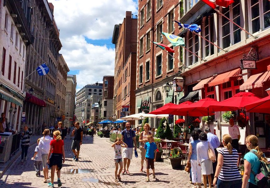 Vieux Montreal  (Old Montreal)