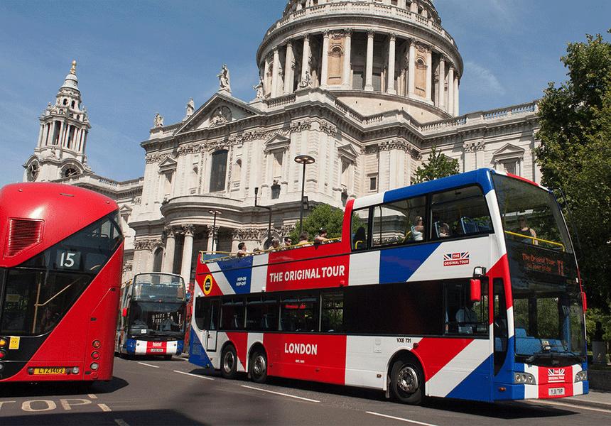 Open Top Bus Tour