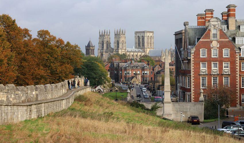 Ancient City Walls of York