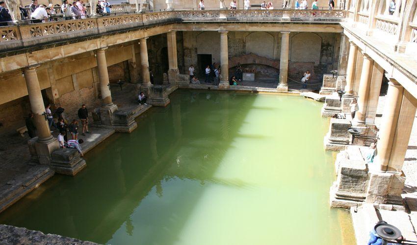 Bath - Spas Ancient and Modern