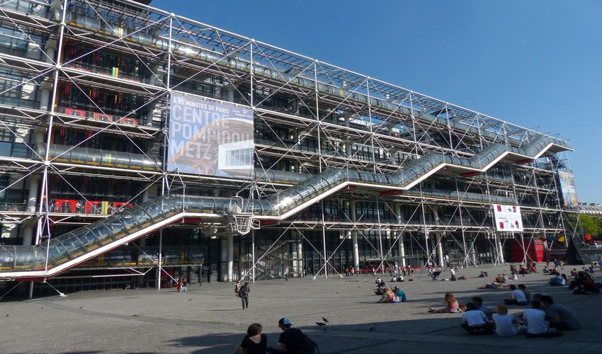 Discover Contemporary Art at Centre Pompidou