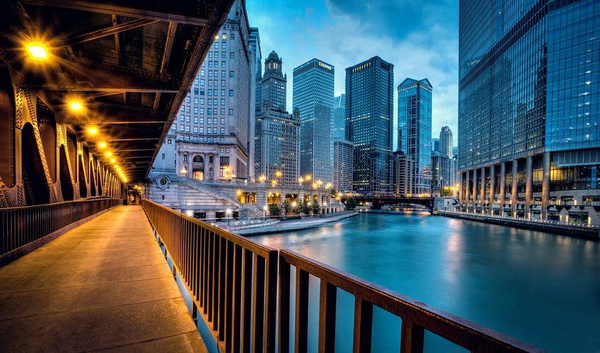 Chicago Waterfront Pedestrian