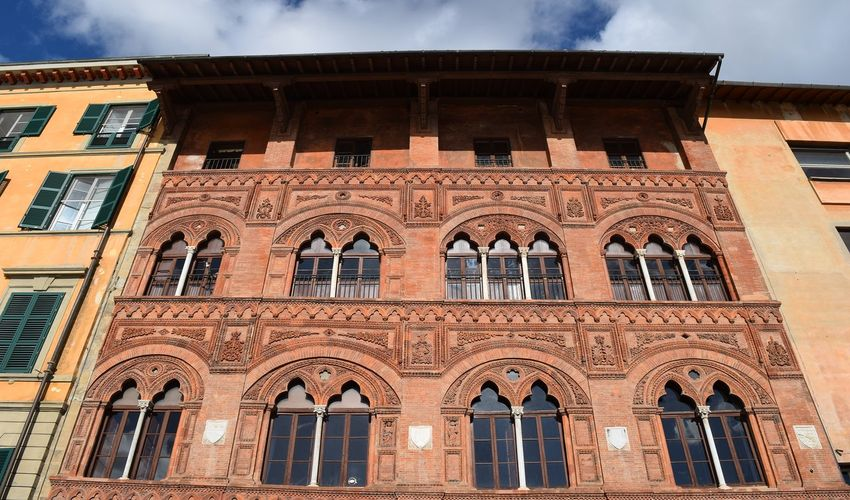 Palazzo Agostini - The Red Palace