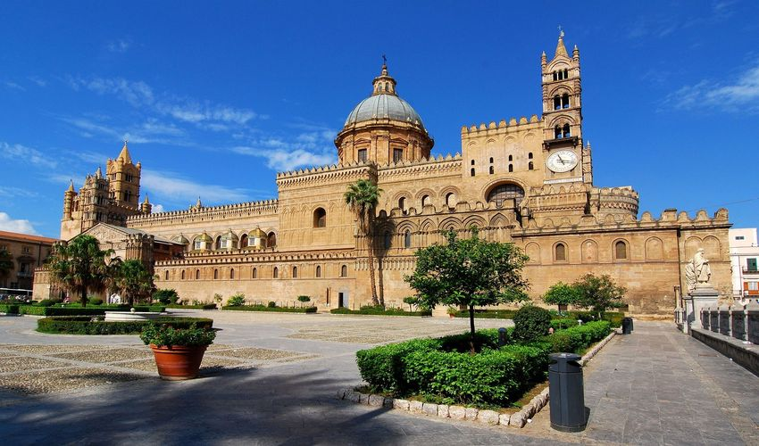 Palermo and Sicily Island