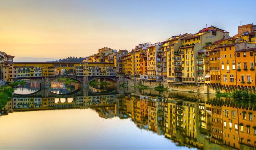 Ponte Vecchio - The Jeweler's Bridge