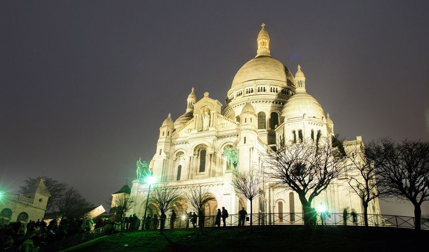 The Basilica of the Sacré-Coeur