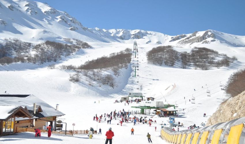 Majella National Park and Sea View Ski Resort