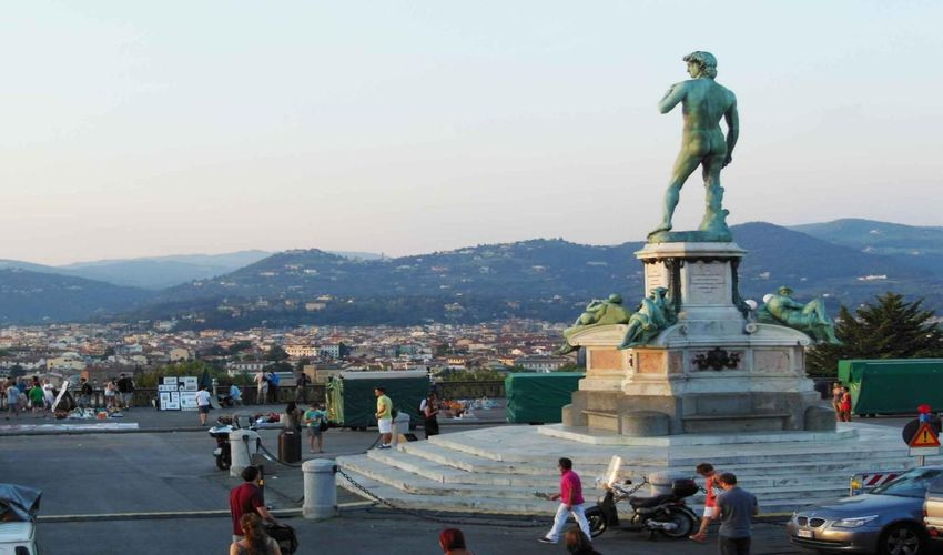 Piazzale de Michelangelo - Square of Michelangelo