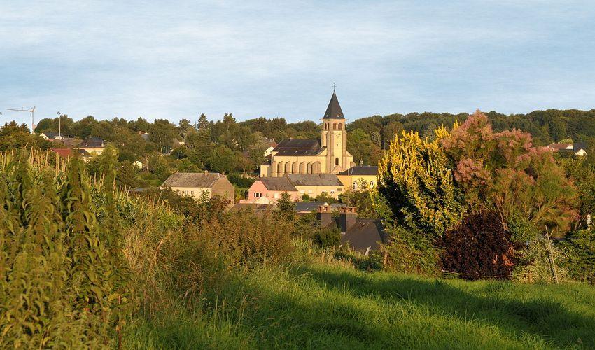 Dalheim Museum and the Church