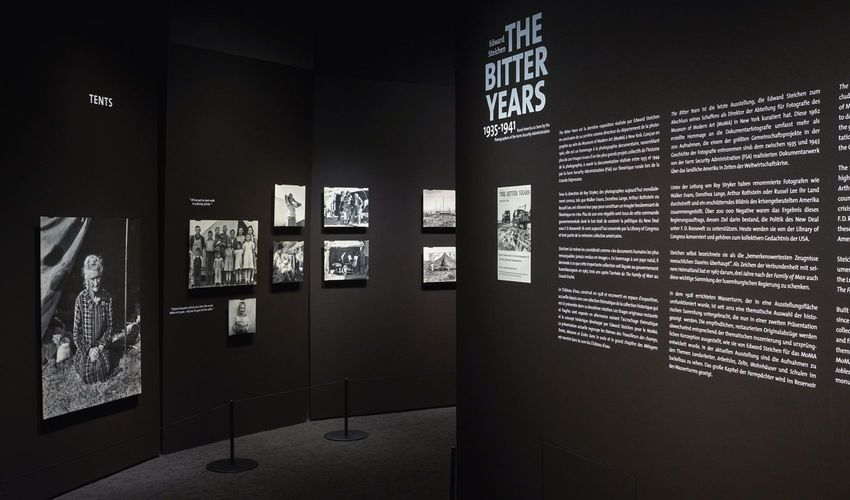 Exhibition of Bitter Years